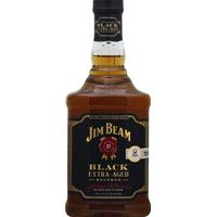 Jim Beam Whiskey, Kentucky Straight Bourbon, Black Extra-Aged