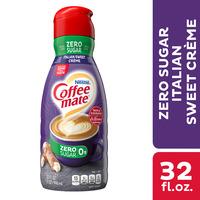 Coffee mate Zero Sugar Italian Sweet Creme Liquid Coffee Creamer