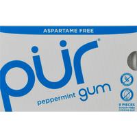Pur Gum, Aspartame Free, Peppermint