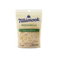 Tillamook Farmstyle Thick Cut Mozzarella Shredded Cheese