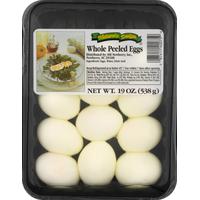 Natures Design Eggs, Whole Peeled