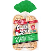 Dave's Killer Bread Organic 21 Whole Grains and Seeds Burger Buns