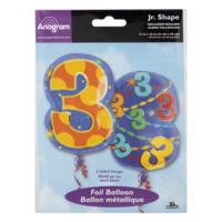 Anagram Jr. Shape Foil Balloon 5