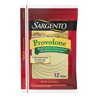 Sargento Sliced Provolone Natural Cheese with Natural Smoke Flavor