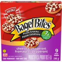Hot Bites Cheese & Pepperoni Frozen Pizza Snack
