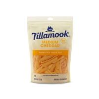 Tillamook Farmstyle Thick Cut Medium Cheddar Shredded Cheese