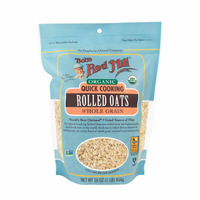 Bob's Red Mill Rolled Oats, Quick Cooking, Organic
