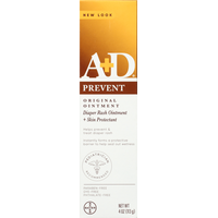 A+d Diaper Rash Ointment + Skin Protectant, Original Treatment