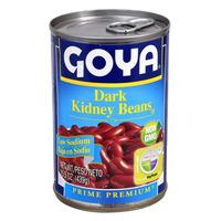 Goya Premium Dark Red Kidney Beans, Low Sodium