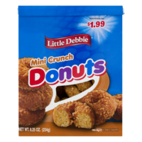 Little Debbie Donuts Mini Crunch