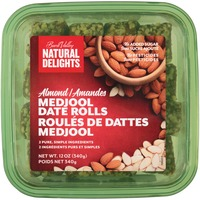 Natural Delights Almond Medjool Date Rolls