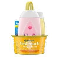 Johnson & Johnson First Touch Gift Set