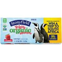 Stonyfield Organic Yokids Organic Strawberry Squeezers Yogurt