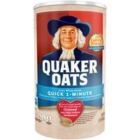 Quaker Oats 100% Whole Grain Quick 1-Minute Oatmeal