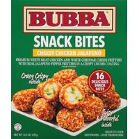 BUBBA burger Snack Bites, Cheesy Chicken Jalapeno