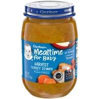 Gerber Mealtime for Baby Harvest Turkey Dinner Baby Food
