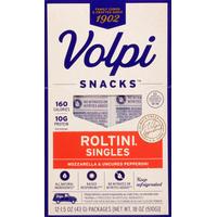 Volpi Roltini, Mozzarella and Uncured Pepperoni, Singles