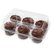 Publix Bakery Fudge Iced Chocolate Cupcakes