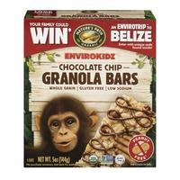 EnviroKidz Nature's Path Organic Envirokidz Granola Bars Chocolate Chip - 6 CT