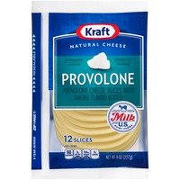 Kraft Natural Slices Provolone Slices Cheese
