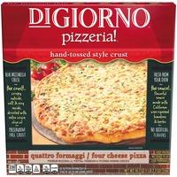 DiGiorno Pizzeria! Pizzeria! Hand-Tossed Style Crust Quattro Formaggi/Four Cheese Frozen Pizza