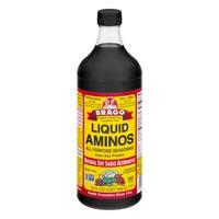 Bragg Liquid Aminos All Purpose Seasoning Natural Soy Sauce Alternative