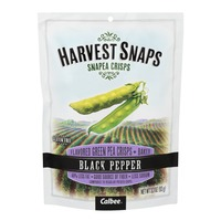 Harvest Snaps Flavored Green Pea Crisps Black Pepper