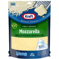 Kraft Natural Cheese Finely Shredded Mozzarella Cheese