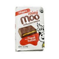 Moo Chocolate Bar Mini Milk Peanut Butter