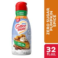 Coffee mate Zero Sugar Pumpkin Spice Liquid Coffee Creamer