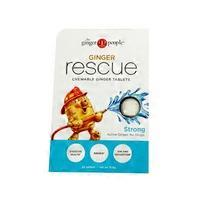 The Ginger People Ginger Rescue Strong Chewable Ginger Tablets