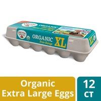 Organic Valley Extra Large Brown Free Range Organic Eggs