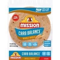 Mission Carb Balance Whole Wheat Fajita Tortillas