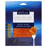 Regal Salmon, Smoked, Beech Wood
