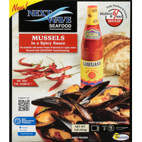 Nextwave Mussels, In a spicy Sauce