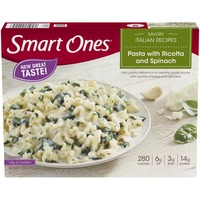 Weight Watchers Savory Italian Recipes Pasta with Ricotta & Spinach Frozen Entree