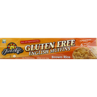 Food for Life English Muffins, Gluten Free, Brown Rice
