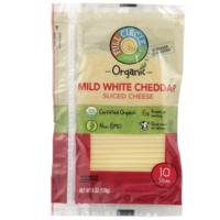 Full Circle Mild White Cheddar Sliced Cheese