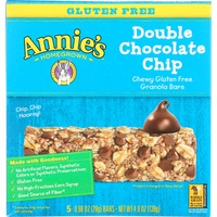 Annie's Homegrown Gluten Free Double Chocolate Chip Granola Bars Granola Bars