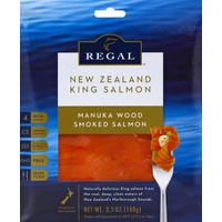 Regal Salmon, Smoked, Manuka Wood