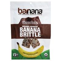 Barnana Banana Brittle, Organic Crunchy, Chocolate
