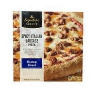 Signature Select Spicy Italian Sausage Rising Crust Pizza
