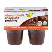 Zen Chocolate Pudding with Almondmilk - 4 CT