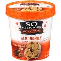 So Delicious Dairy Free Almondmilk Mocha Almond Fudge Frozen Dessert