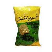 The Snack Artist Sour Cream & Onion Potato Chips