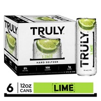 TRULY Hard Seltzer Lime, Spiked & Sparkling Water