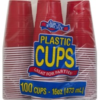 Jack Frost Jack Frost Plastic Cups