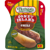 Nathan's Famous Famous Hot Dog Topping Chili