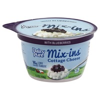 DairyPure Mix-ins Low Fat Cottage Cheese with Blueberries