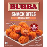 Bubba's Snack  Bites, Original Beef